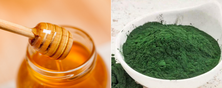 The Honey & Spirulina Face Mask