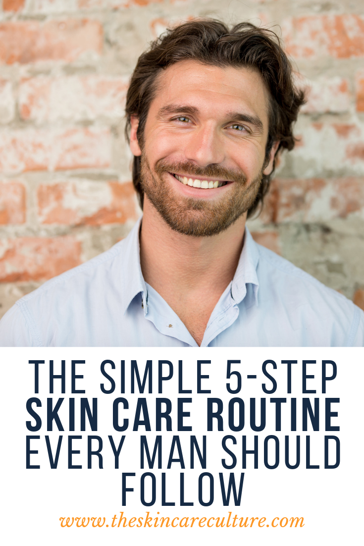 simple skincare routine for men