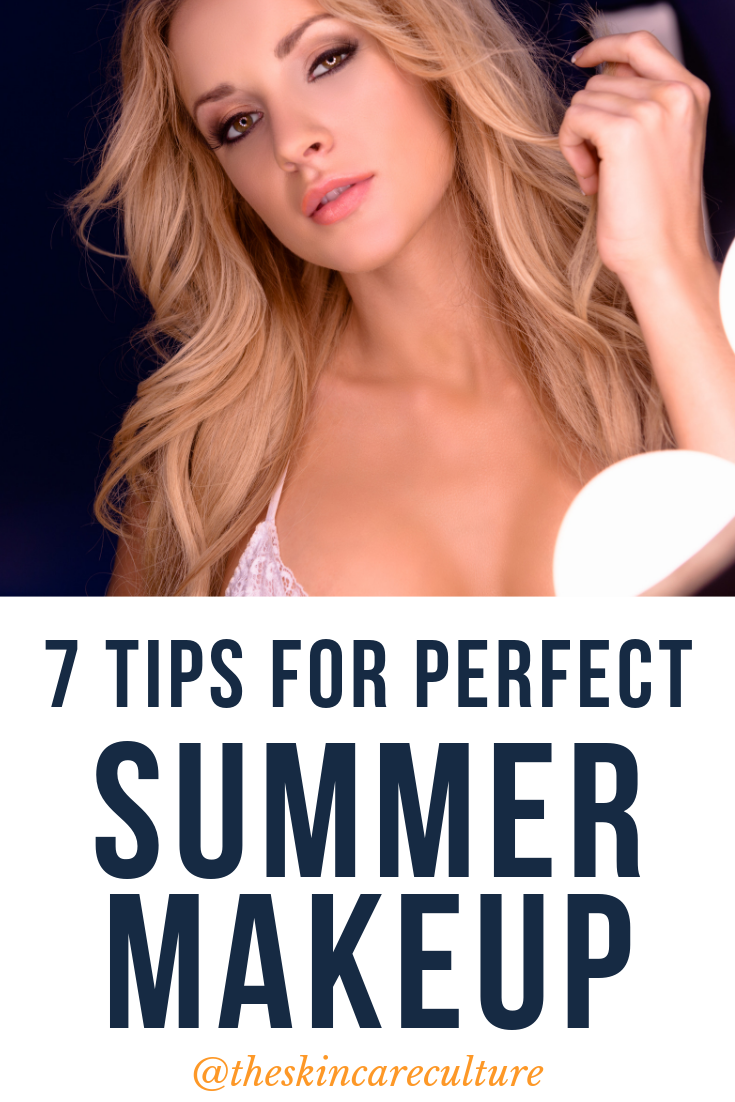 7 tips for perfect summer makeup