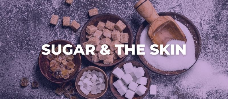 the effects of sugar on the skin