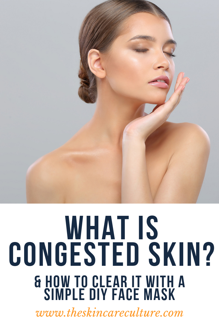 what is congested skin