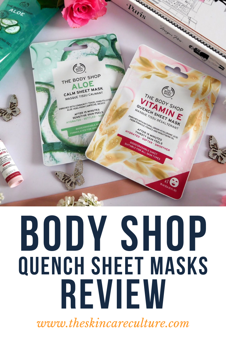 Body Shop Quench Sheet Mask Reviews