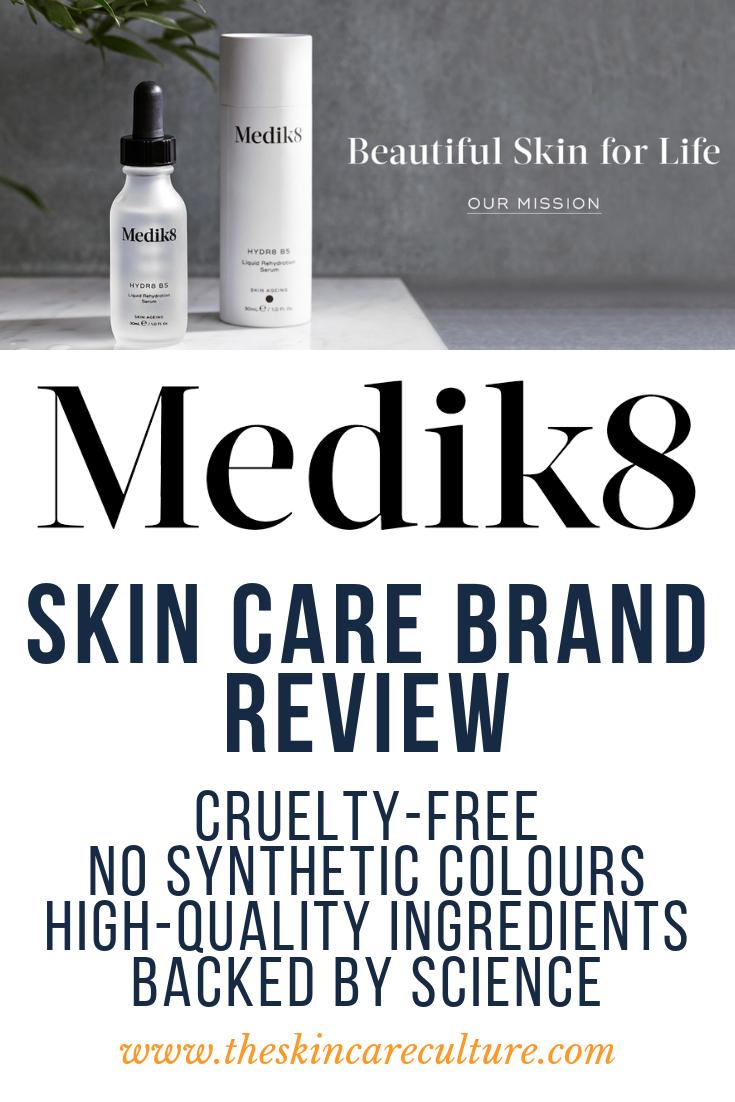 MEDIK8 skincare brand review