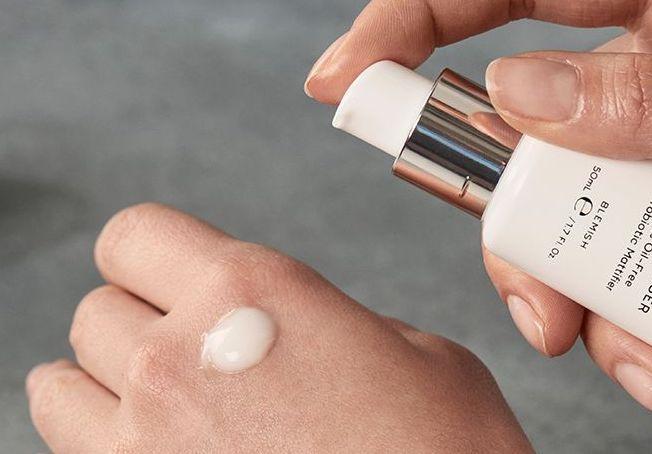 how to use the medik8 balance moisturiser