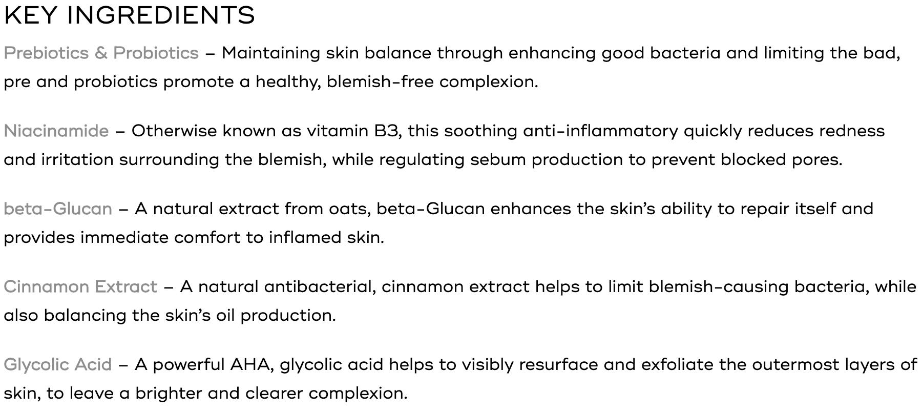 medik8 balance moisturiser ingredients