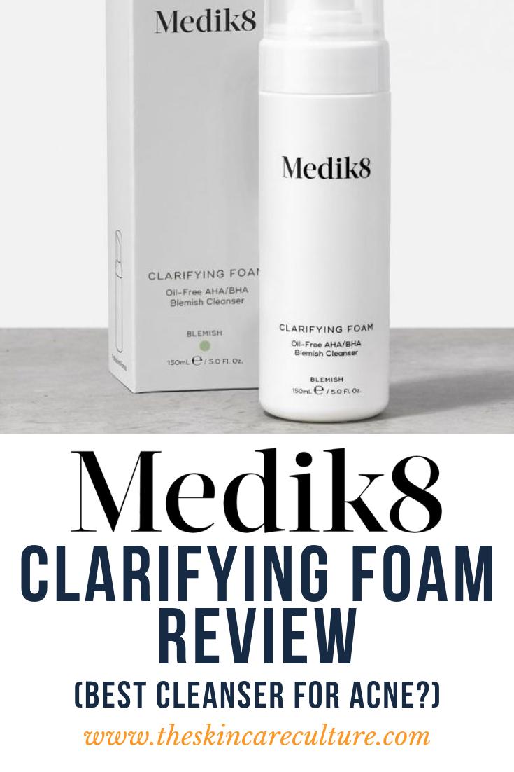 medik8 foam review