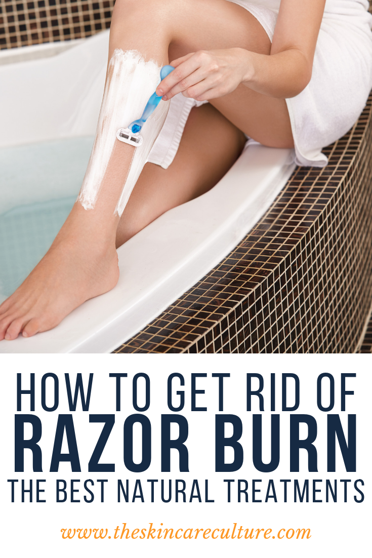 the best natural remedies for razor burn