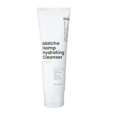 01 Krave Beauty Matcha Hemp Hydrating Cleanser