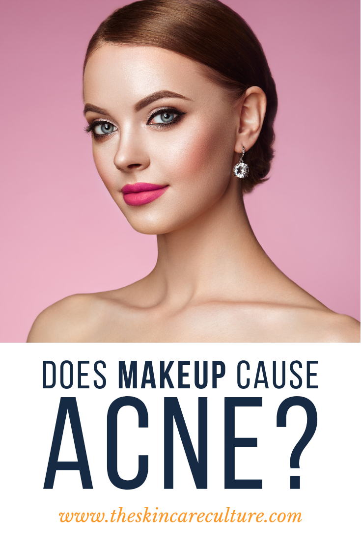 Does Makeup Cause Acne Breakouts