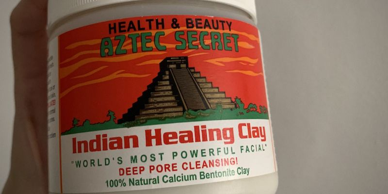 what is the aztec clay mask made of