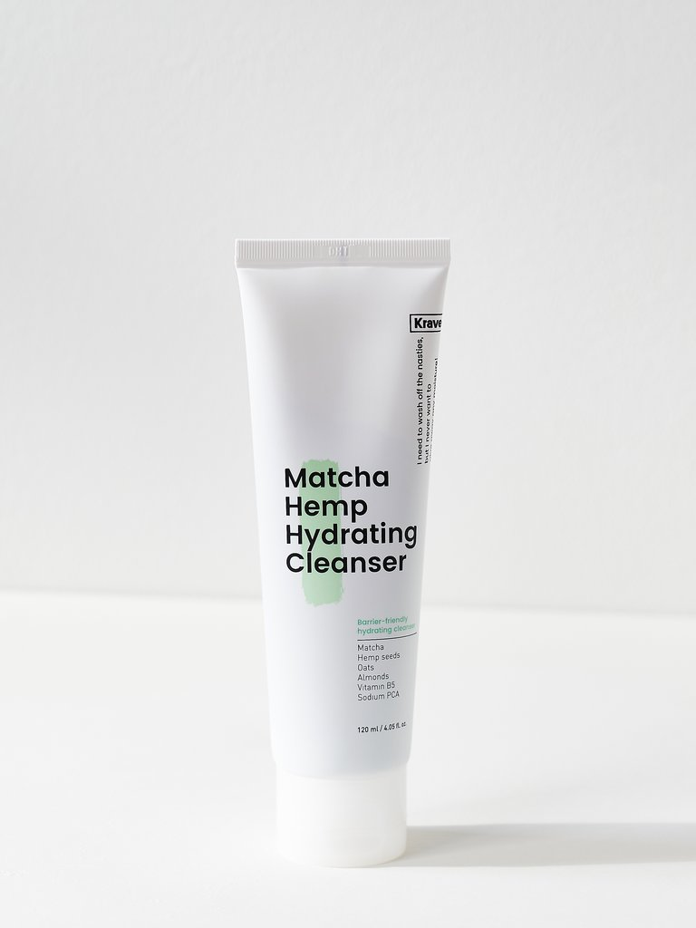 matcha hemp hydrating cleanser review