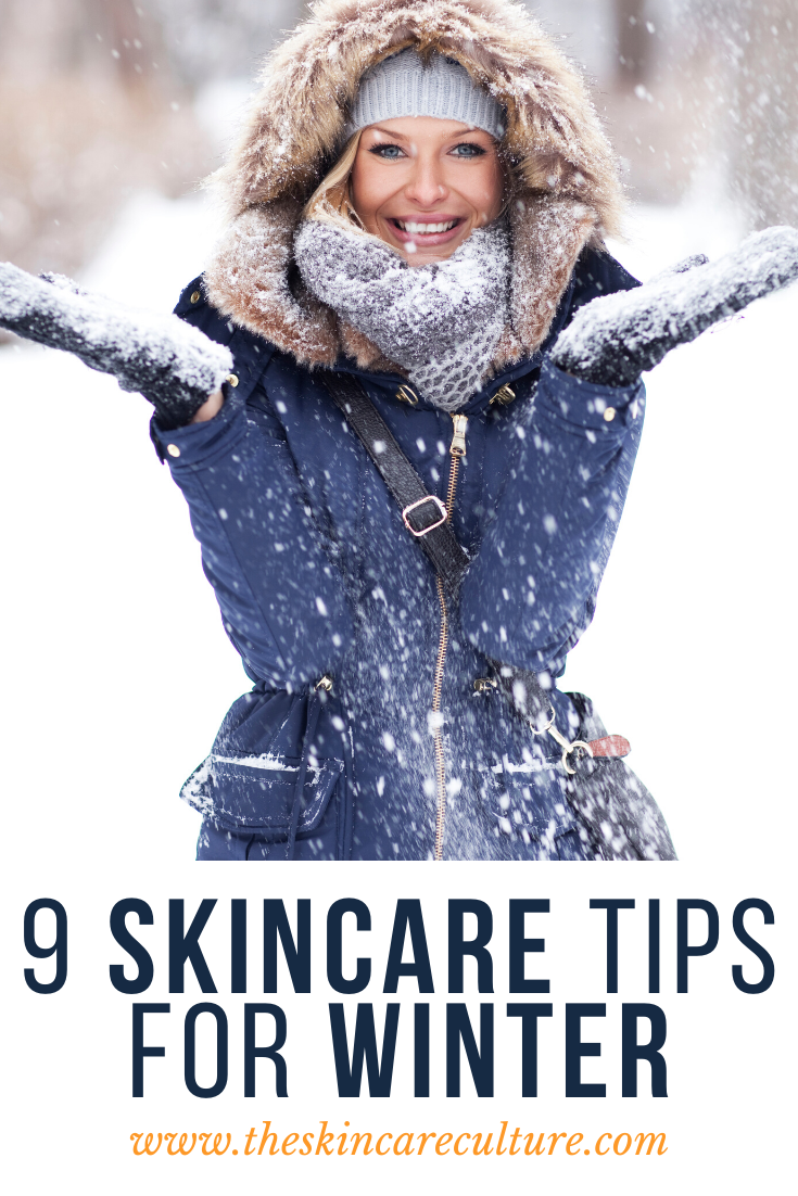 9 Skincare Tips For Winter