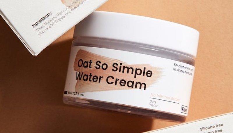 Oat So Simple Water Cream