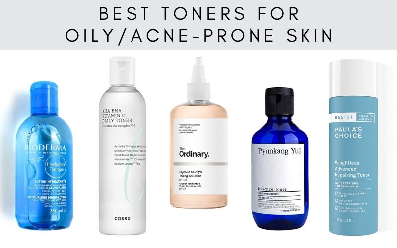 Best Toners For Oily Acne Prone Skin