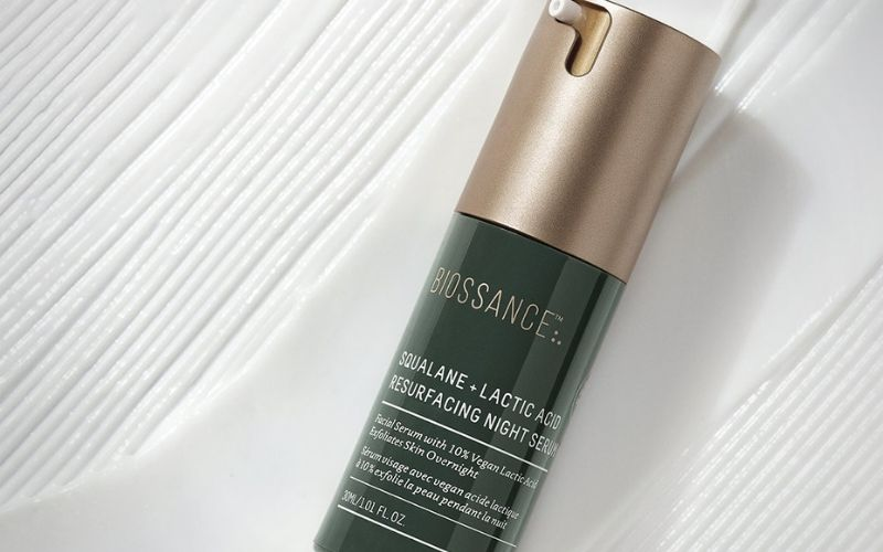Biossance - Squalane Lactic Acid Resurfacing Night Serum