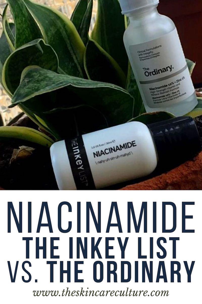 Inkey List Niacinamide vs. The Ordinary Niacinamide Review