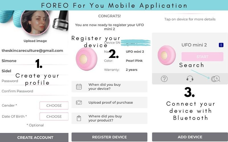 FOREO-For-You-Mobile-App