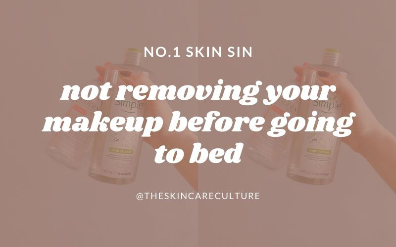 Why You Should Remove Your Makeup Before Bed