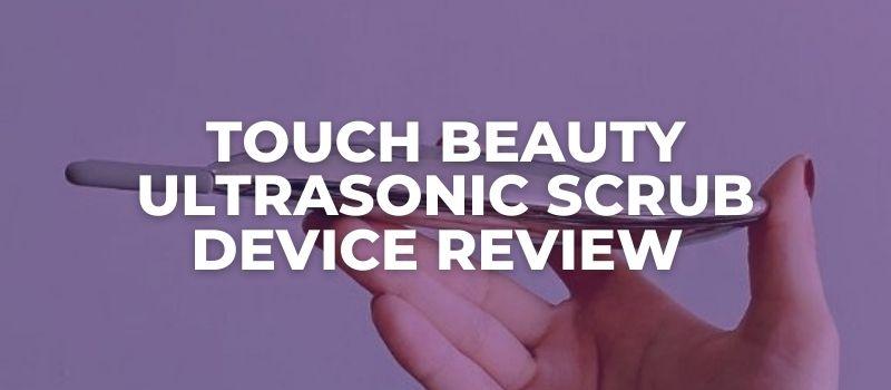 Ultrasonic Scrub Device By Touch Beauty