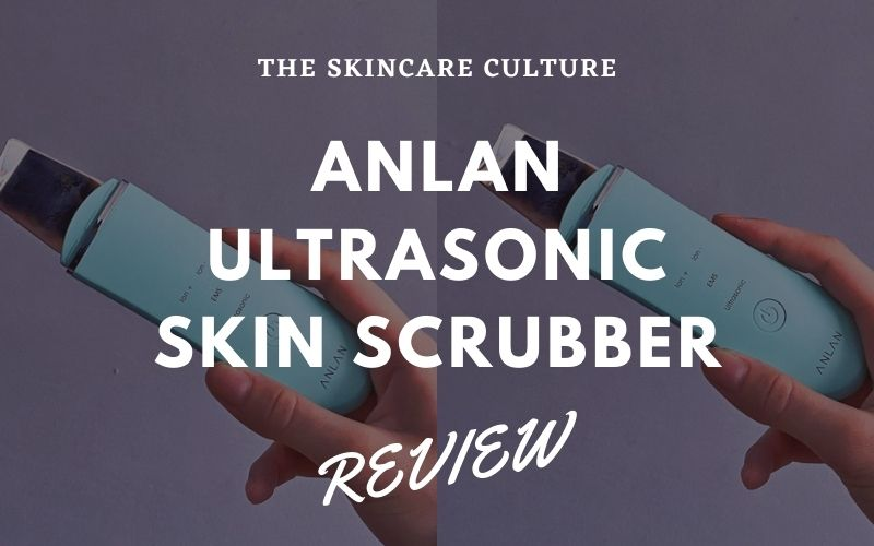 ANLAN Ultrasonic Skin Scrubber Review