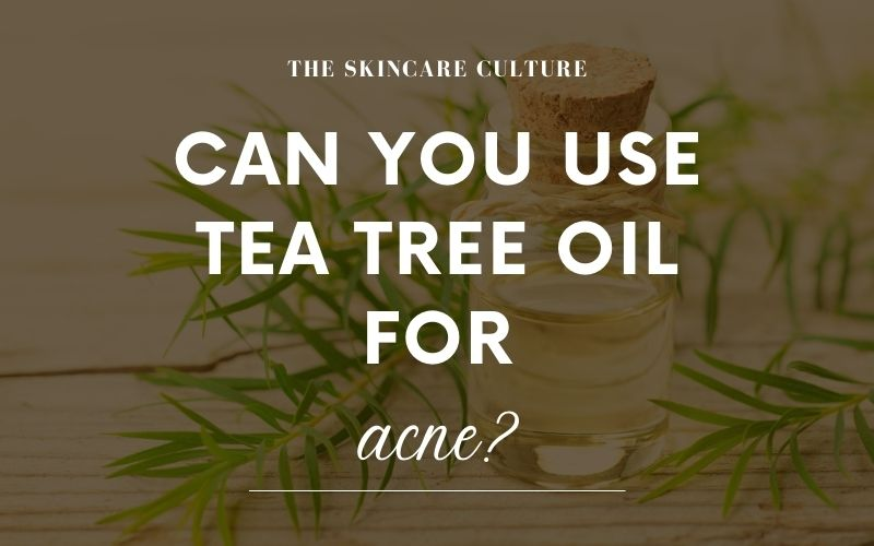 Can You Use Tea Tree Oil For Acne?