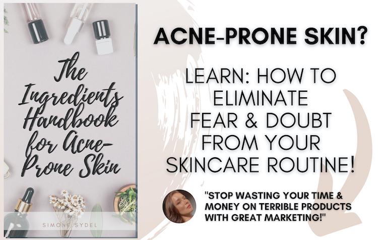 acne prone skin handbook