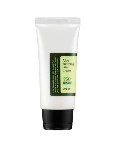 COSRX – Aloe Soothing Sun Cream SPF50