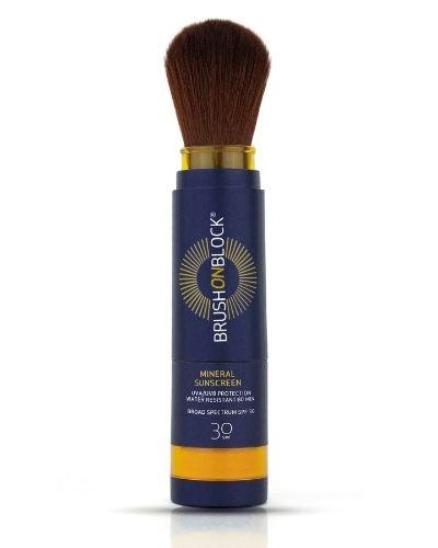 Brush On Block – Mineral Sunscreen Powder SPF30 - The Skincare Culture