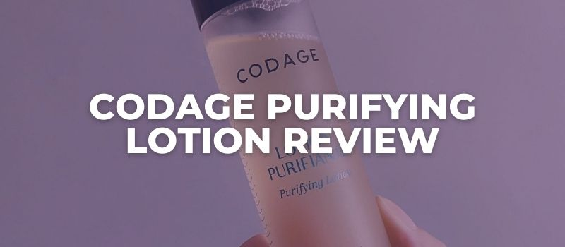 CODAGE Purifying Lotion Review
