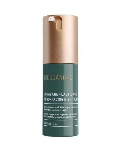 Biossance – Squalane + 10% Lactic Acid Resurfacing Serum – The Skincare Culture