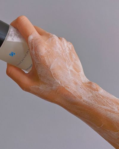 SkinCeuticals Soothing Cleanser Texture - The Skincare Culture